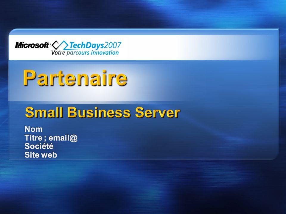 Nom Titre ; email@ Société Site web