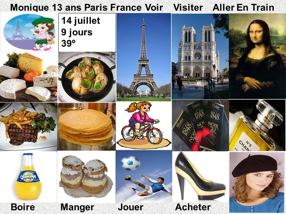 Monique 13 ans Paris France Voir Visiter Aller En Train 14 juillet
