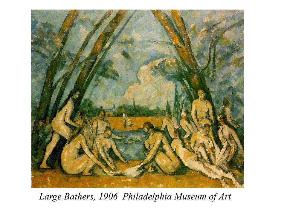 Large Bathers, 1906 Philadelphia Museum of Art