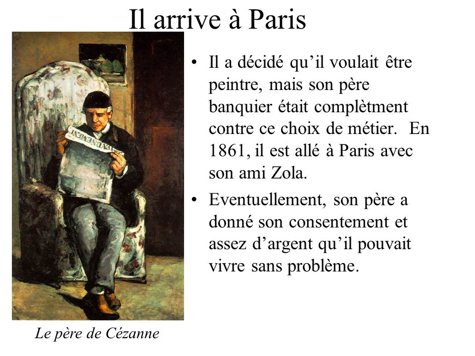 Il arrive à Paris
