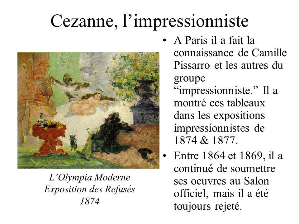 Cezanne, l'impressionniste