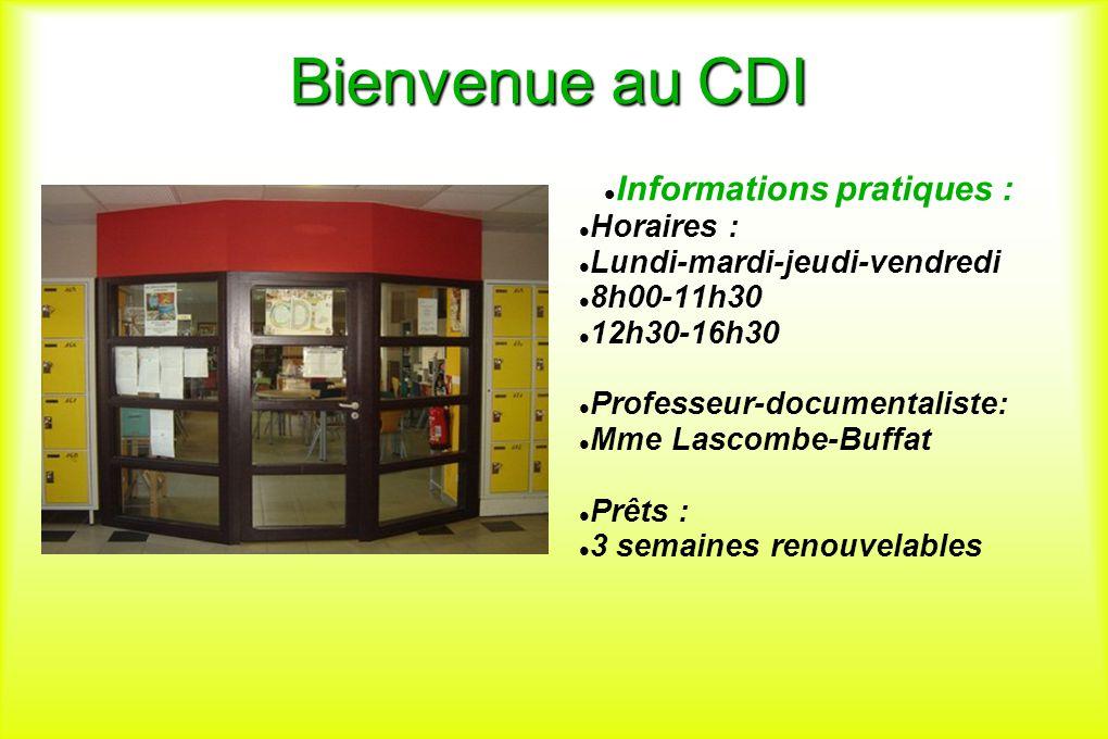 Informations pratiques :
