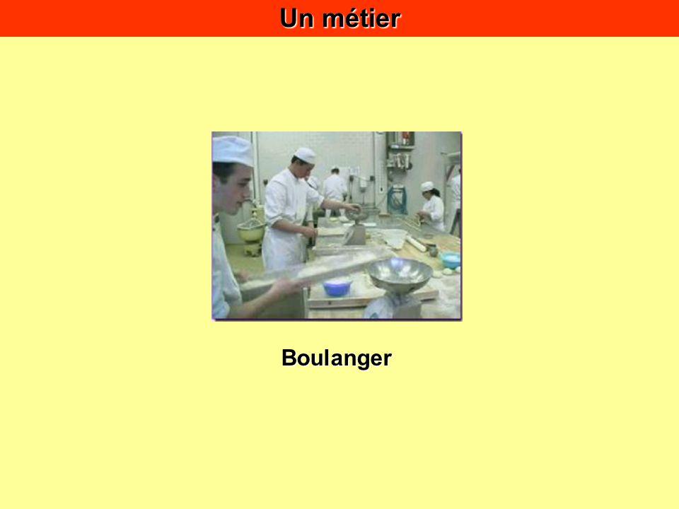 Un métier Boulanger
