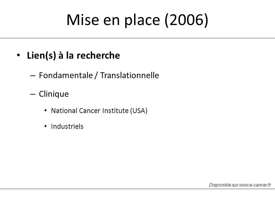Mise en place (2006) Lien(s) à la recherche