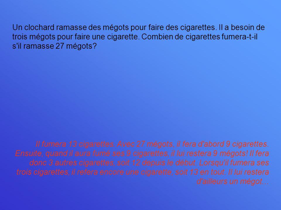 Un clochard ramasse des mégots pour faire des cigarettes
