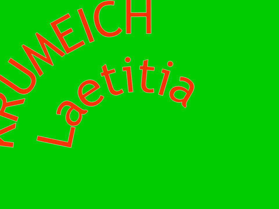 KRUMEICH Laetitia