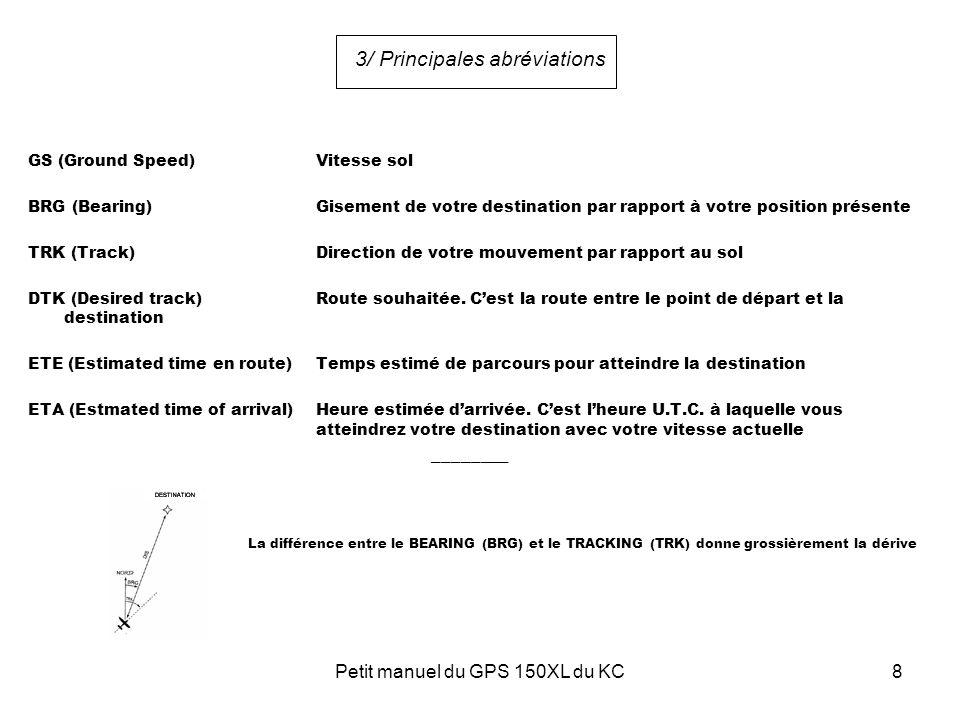 3/ Principales abréviations