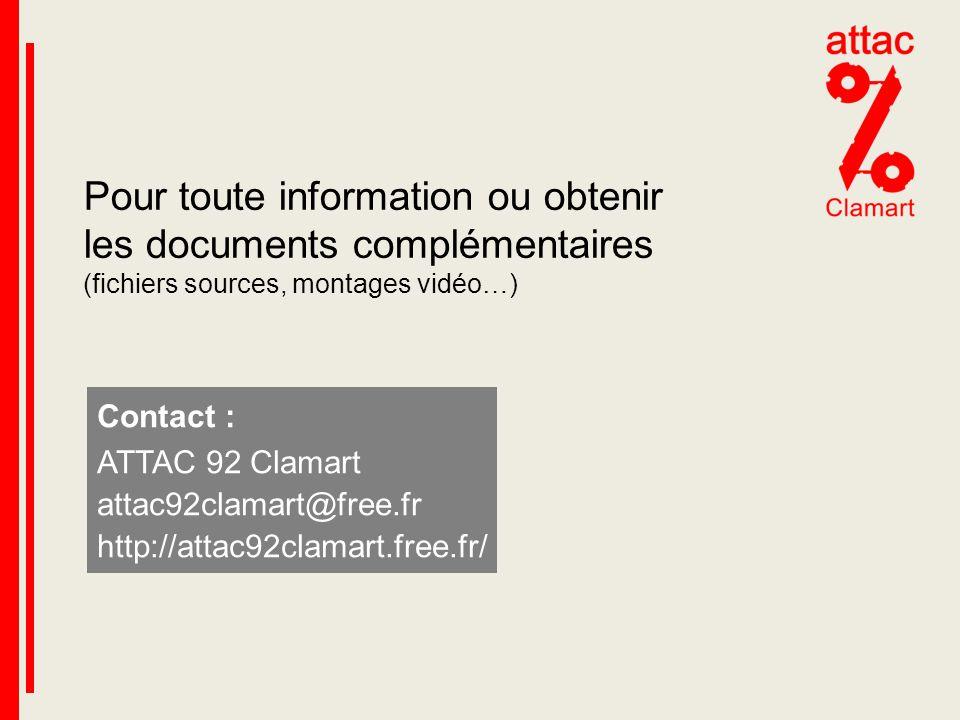 Pour toute information ou obtenir les documents complémentaires