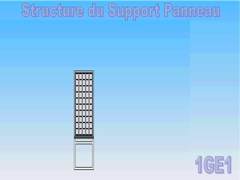 Structure du Support Panneau