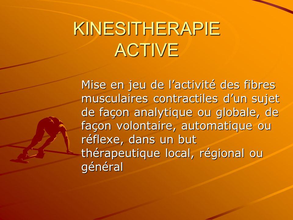 KINESITHERAPIE ACTIVE
