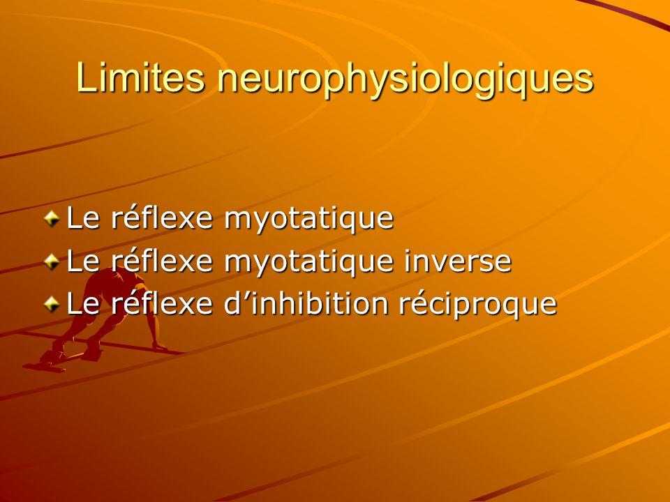 Limites neurophysiologiques