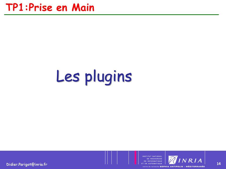 TP1:Prise en Main Les plugins