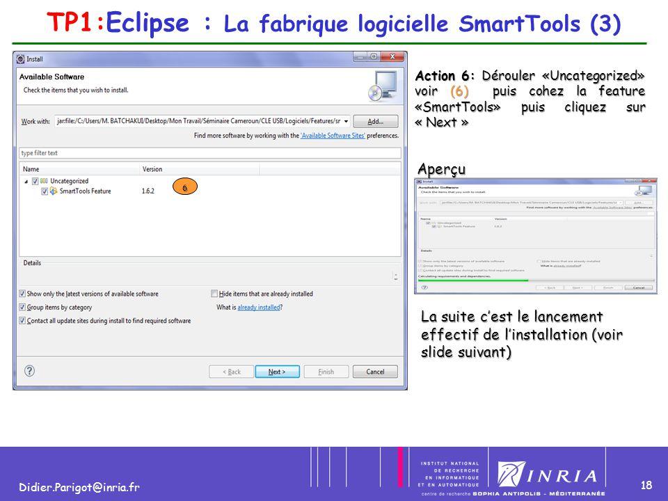 TP1:Eclipse : La fabrique logicielle SmartTools (3)