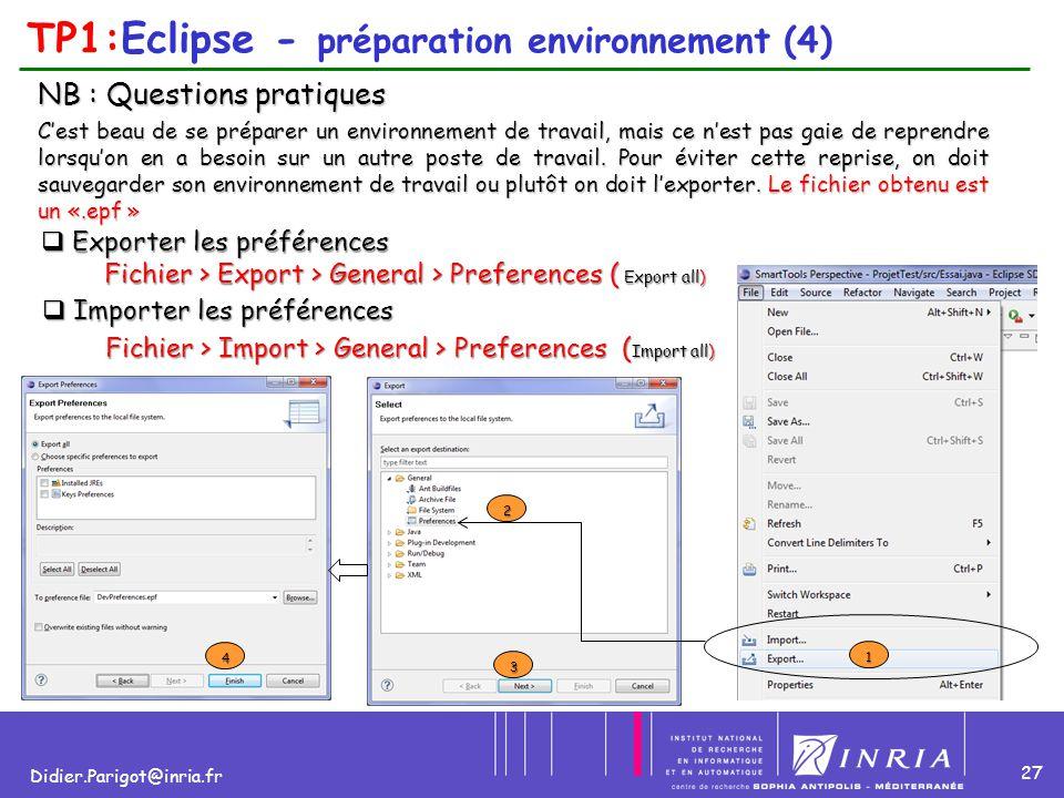 TP1:Eclipse - préparation environnement (4)