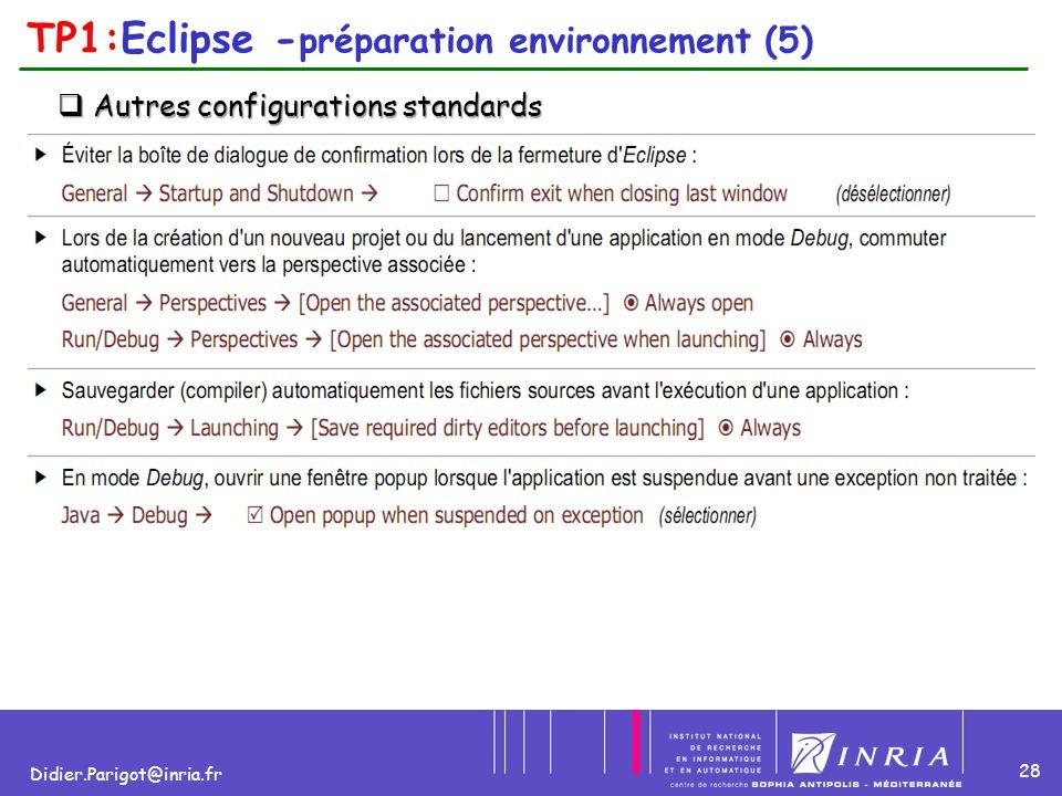 TP1:Eclipse -préparation environnement (5)
