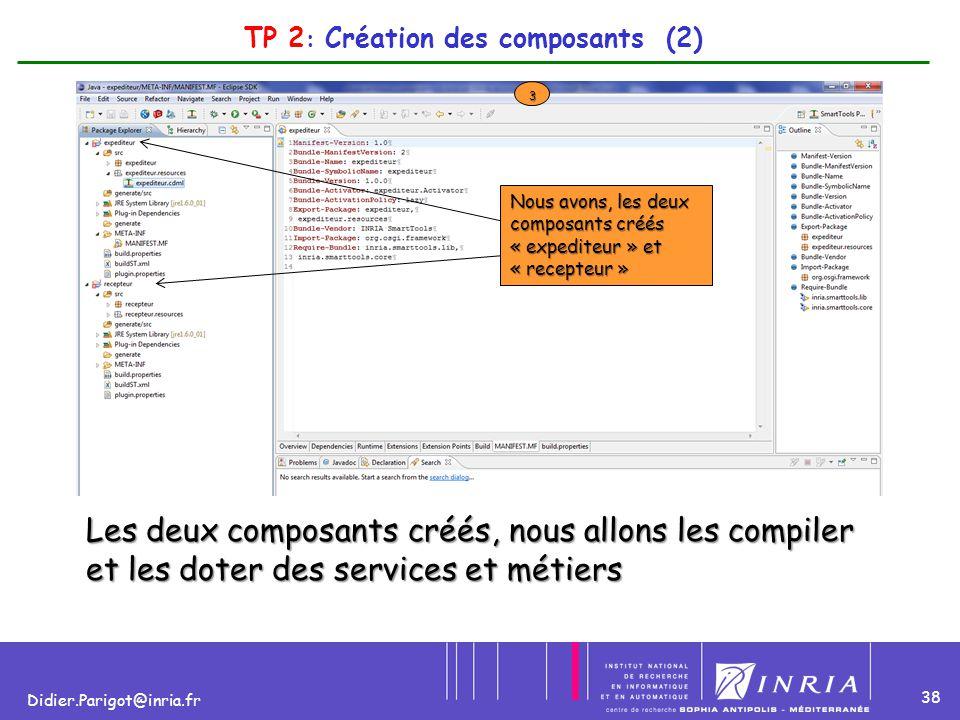 TP 2: Création des composants (2)