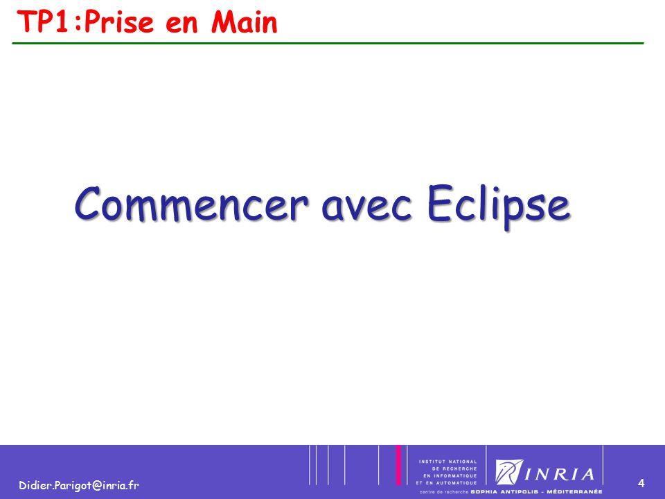 Commencer avec Eclipse