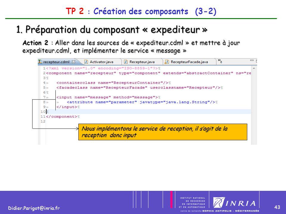 TP 2 : Création des composants (3-2)