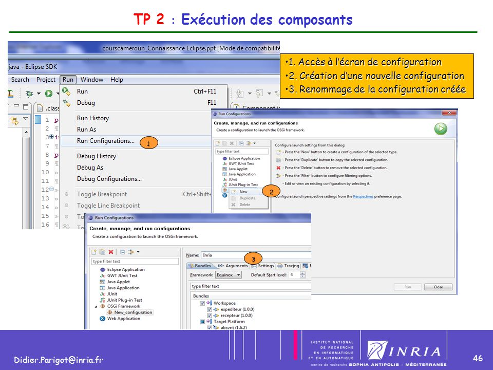 TP 2 : Exécution des composants