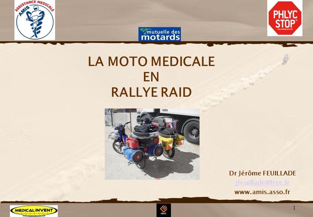 LA MOTO MEDICALE EN RALLYE RAID