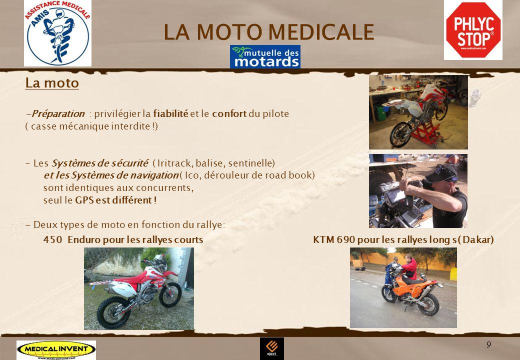 LA MOTO MEDICALE La moto