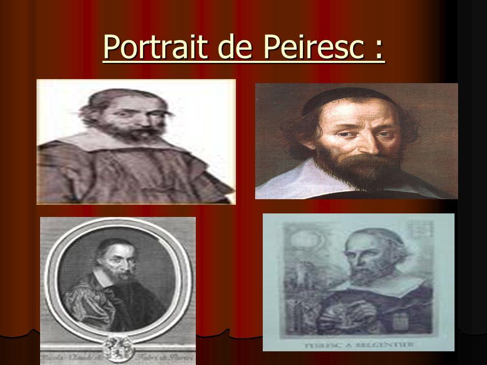 Portrait de Peiresc :