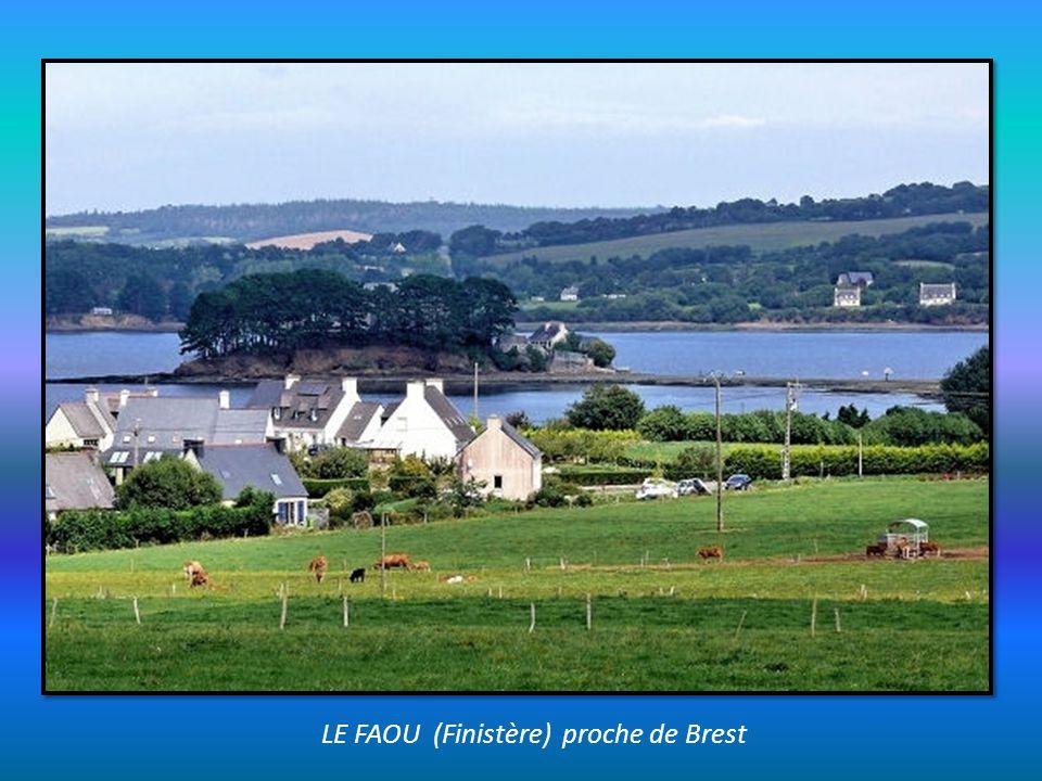 LE FAOU (Finistère) proche de Brest