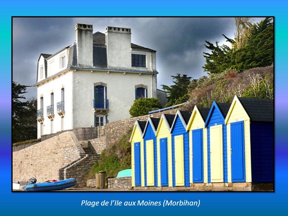Plage de l'Ile aux Moines (Morbihan)