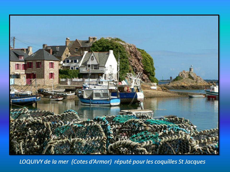 LOQUIVY de la mer (Cotes d'Armor) réputé pour les coquilles St Jacques