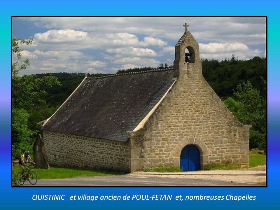 QUISTINIC et village ancien de POUL-FETAN et, nombreuses Chapelles