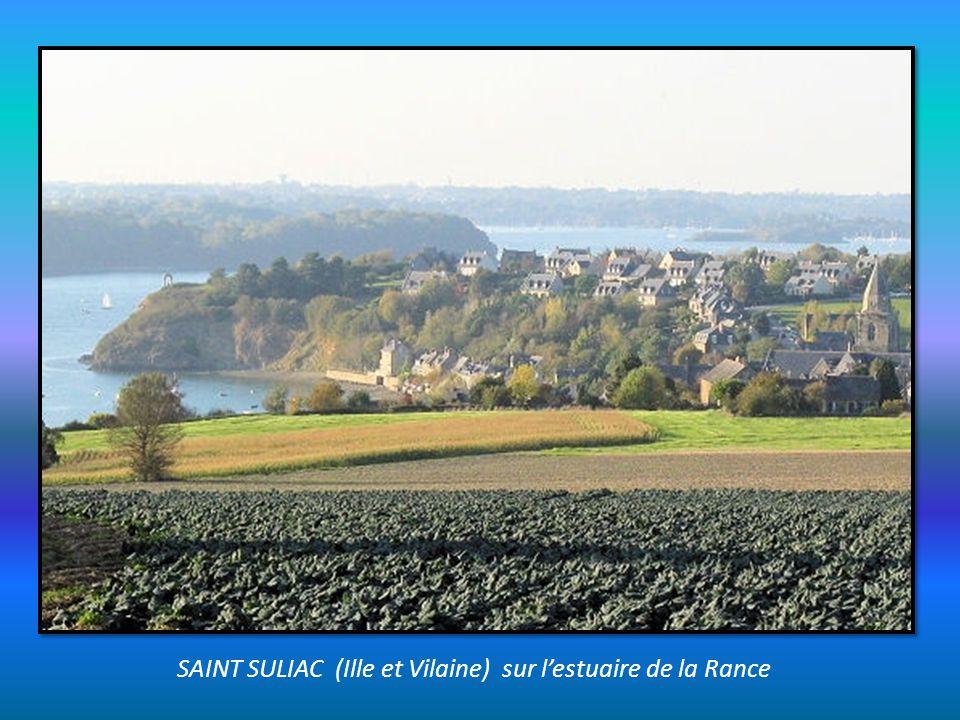 SAINT SULIAC (Ille et Vilaine) sur l'estuaire de la Rance