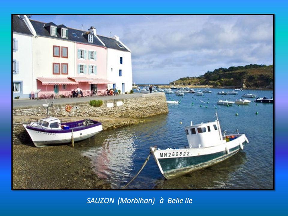 SAUZON (Morbihan) à Belle Ile