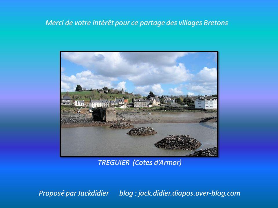 Merci de votre intérêt pour ce partage des villages Bretons