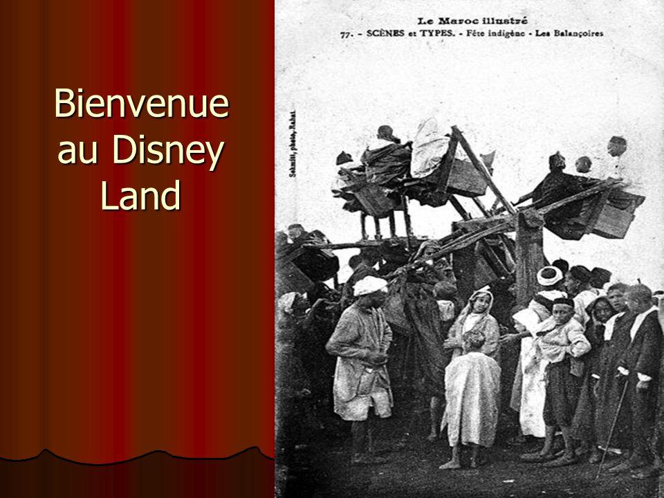 Bienvenue au Disney Land