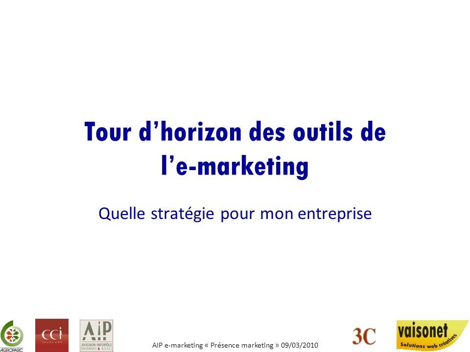 Tour d'horizon des outils de l'e-marketing
