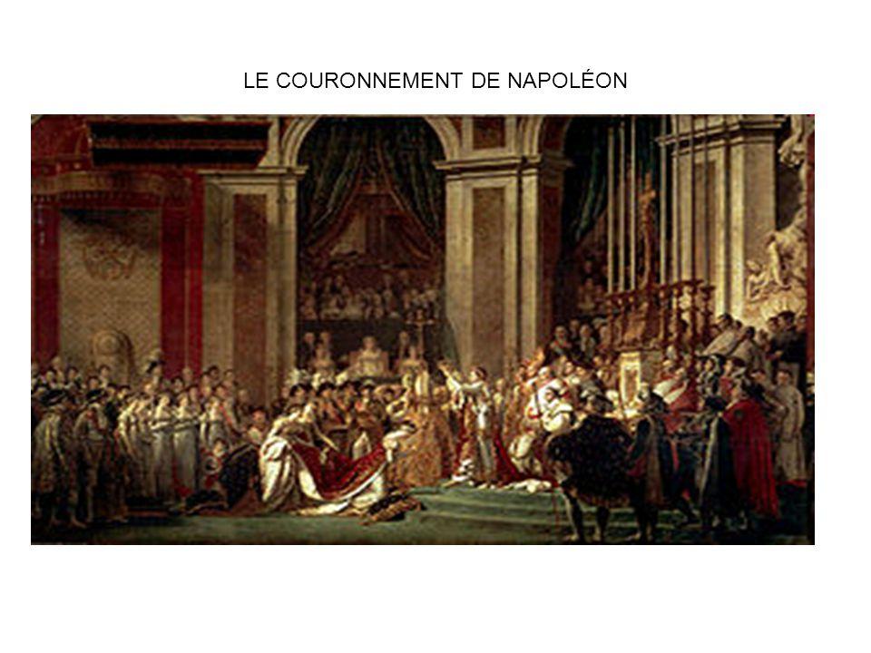 LE COURONNEMENT DE NAPOLÉON