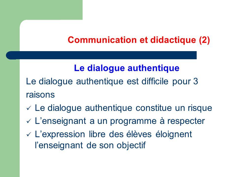 Communication et didactique (2)