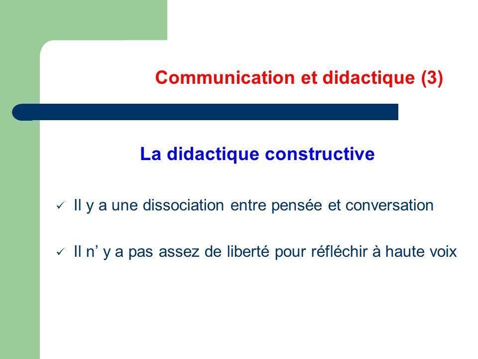 Communication et didactique (3)