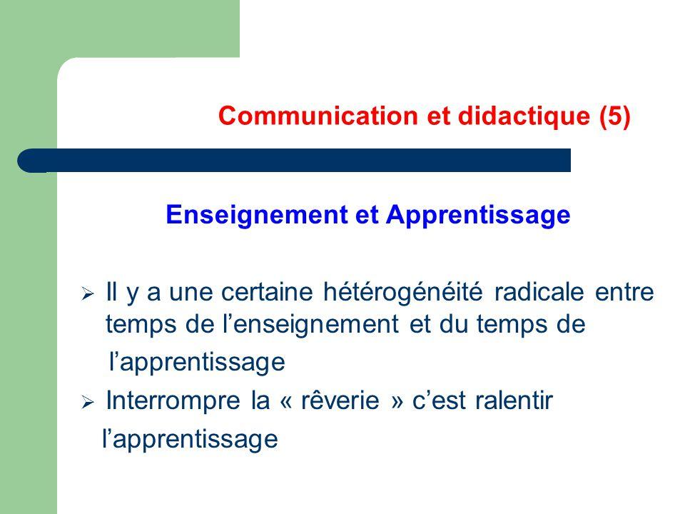 Communication et didactique (5)