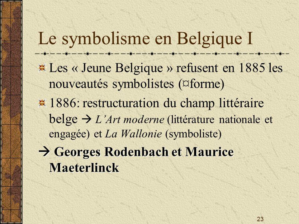 Le symbolisme en Belgique I
