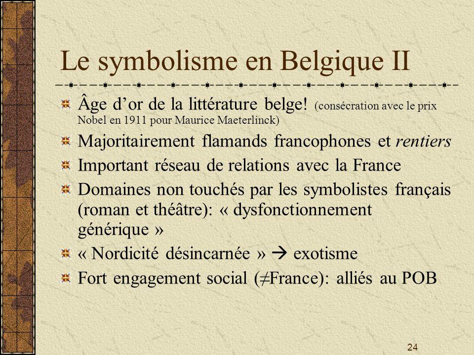 Le symbolisme en Belgique II