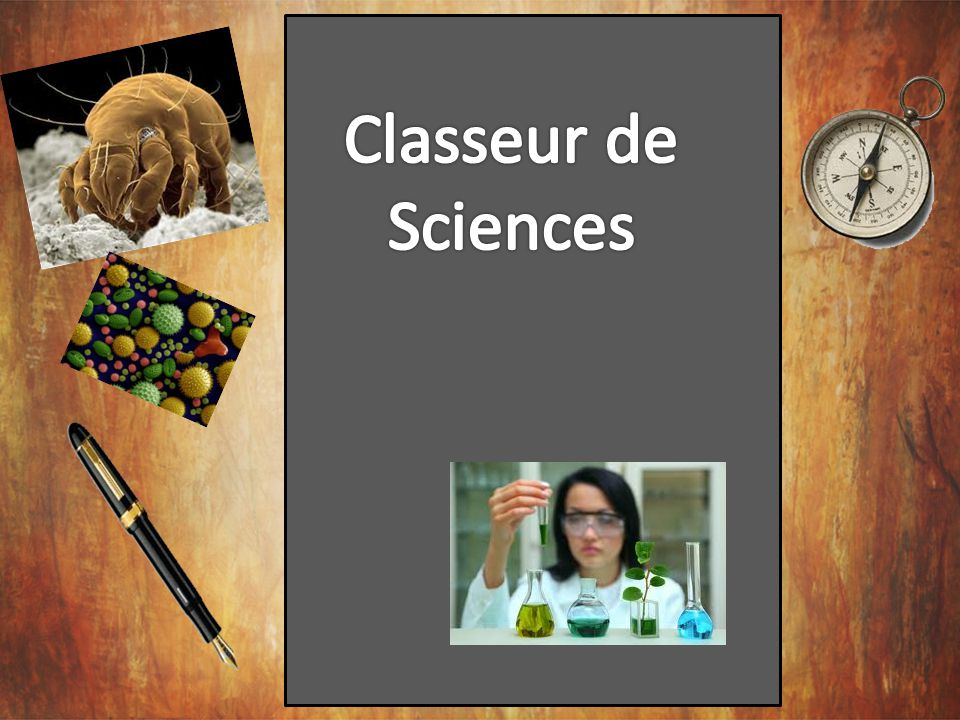 Classeur de Sciences