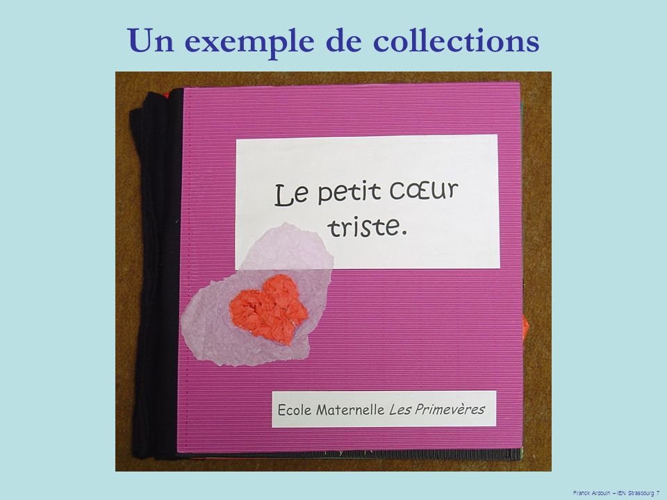 Un exemple de collections