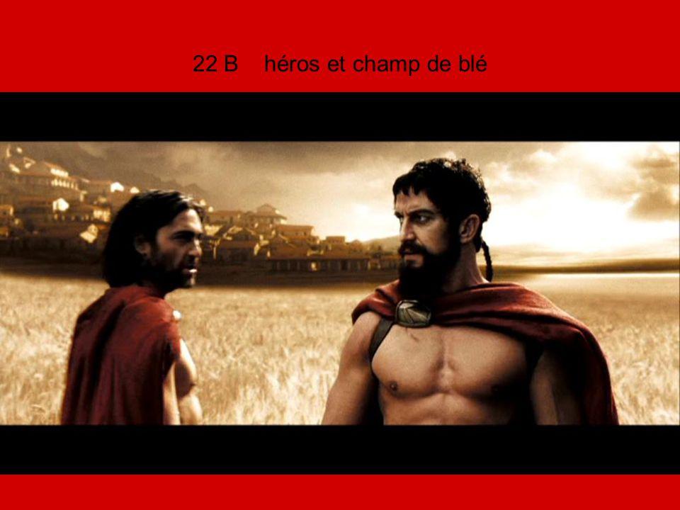 22 B héros et champ de blé