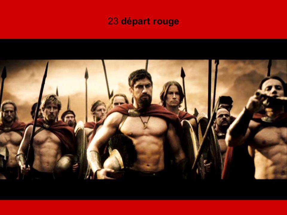 23 départ rouge