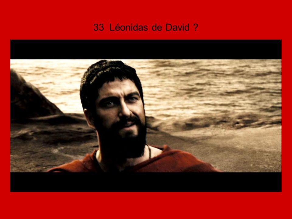 33 Léonidas de David