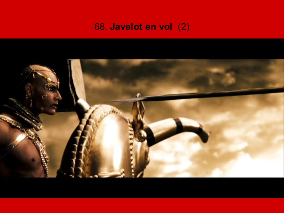 68. Javelot en vol (2)