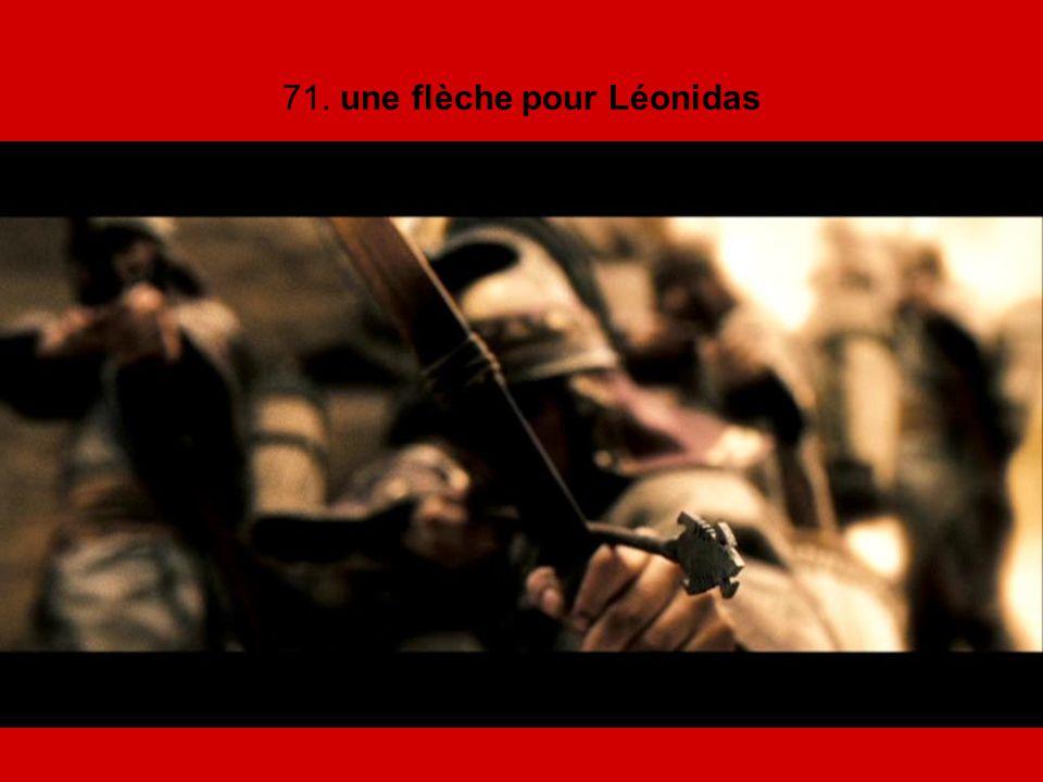 71. une flèche pour Léonidas