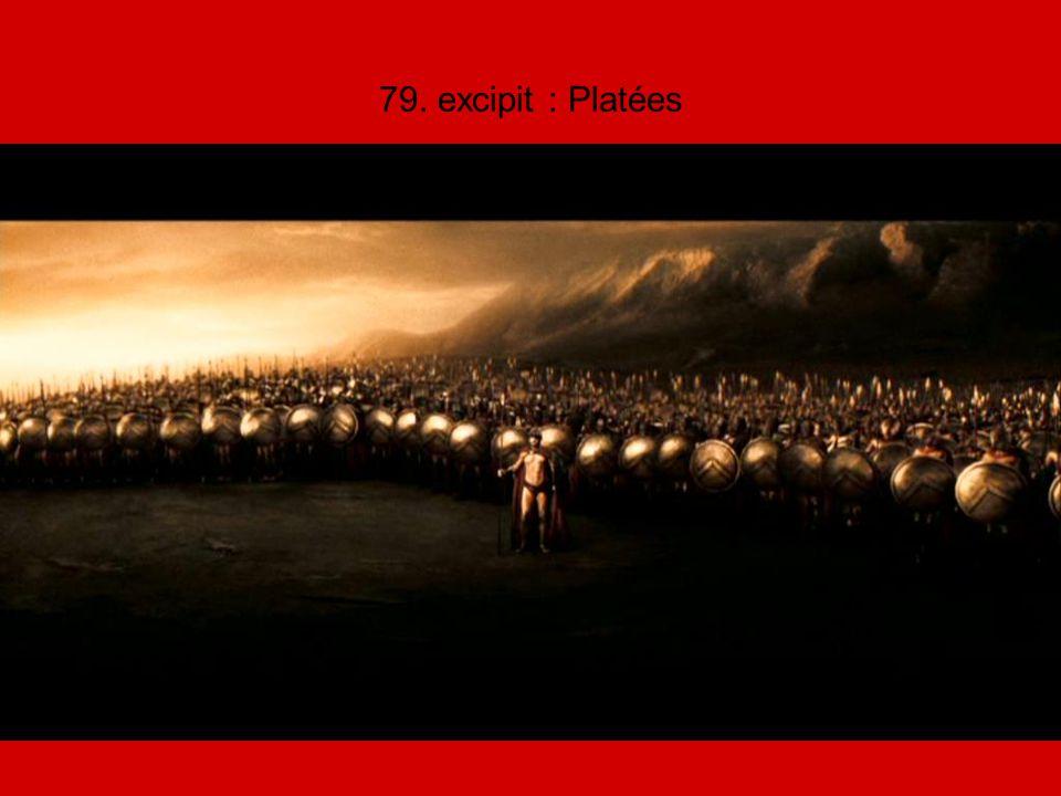 79. excipit : Platées