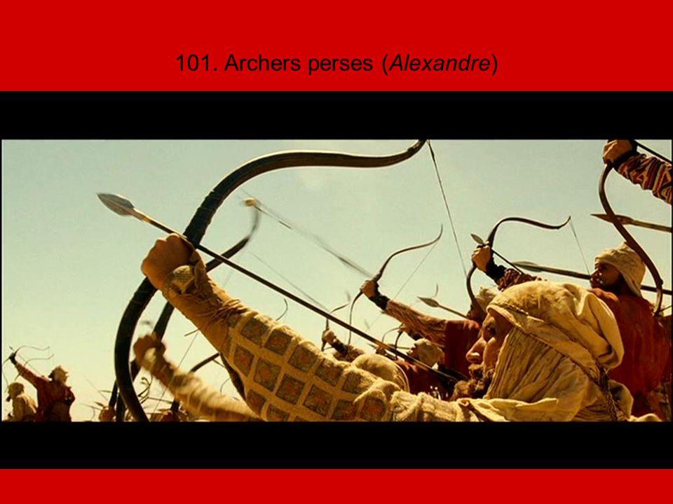 101. Archers perses (Alexandre)